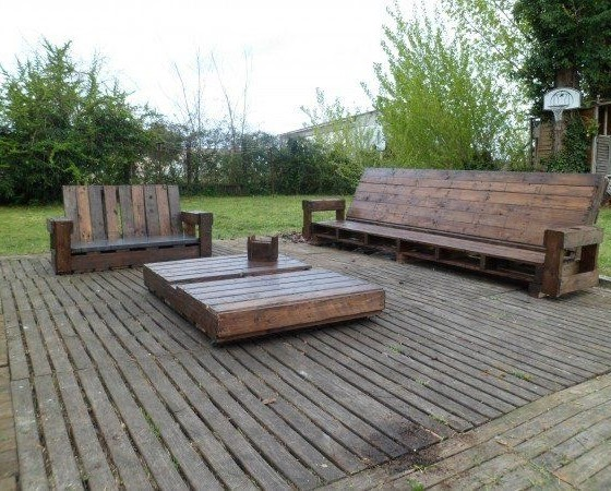 Id es d co faire ses meubles en bois recycl - Ou trouver des palettes en bois ...
