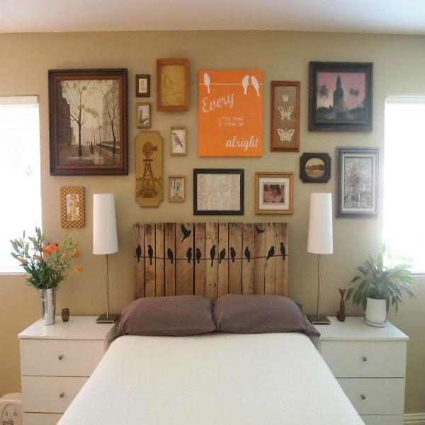 meuble en palette tête de lit